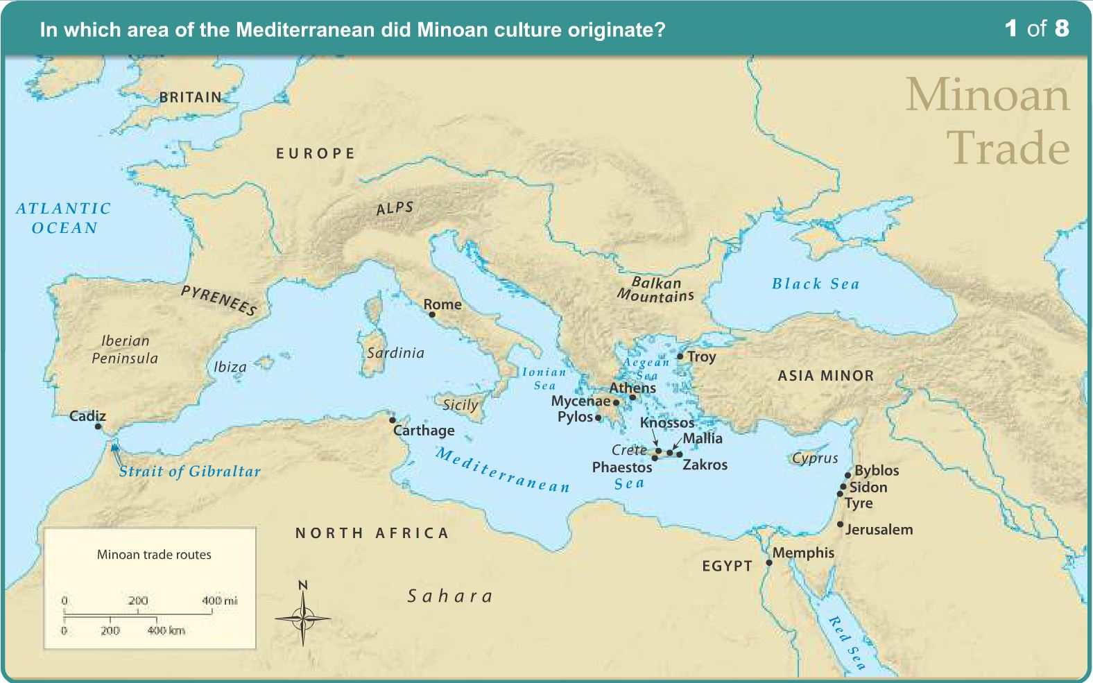 History: Minoan Trade Routes - Learning Liftoff
