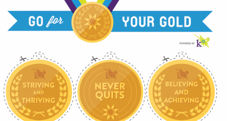 photo relating to Printable Medals identify Printable Gold Medals - Mastering Liftoff