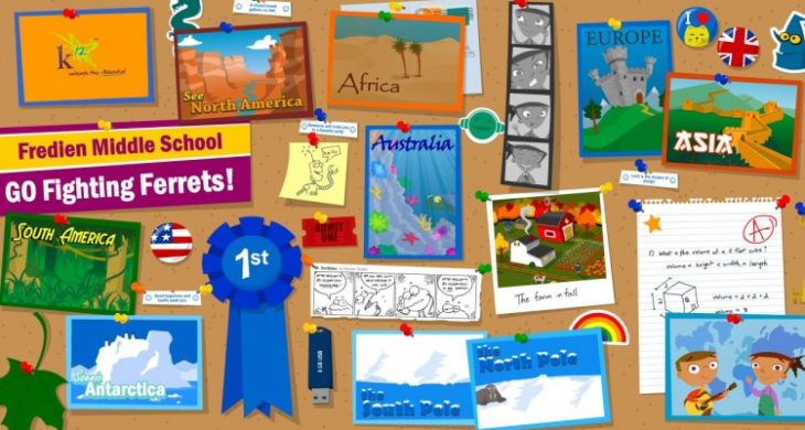 picture about Were Moving Up to Kindergarten Printable Lyrics named 7 Continents Music With Lyrics - Kindergarten Record