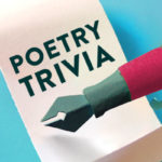April is set aside as National Poetry Month, a time to celebrate poets and their craft.