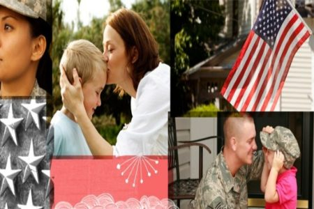 """April is the Month of the Military Child and has been """"set aside to honor and celebrate the significance and resilience of military children and youth"""" as their parent or parents serve our nation"""