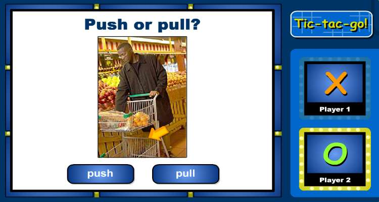 Kindergarten Science Learning Game Push Or Pull Learning Liftoff