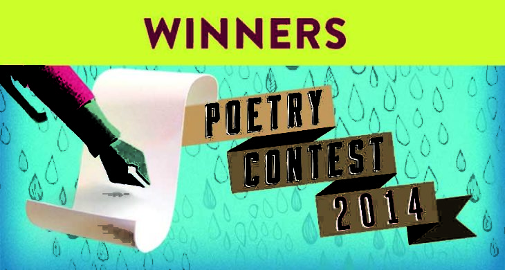 Announcing the winners of the 2014 Splish Splash Poetry Contest!