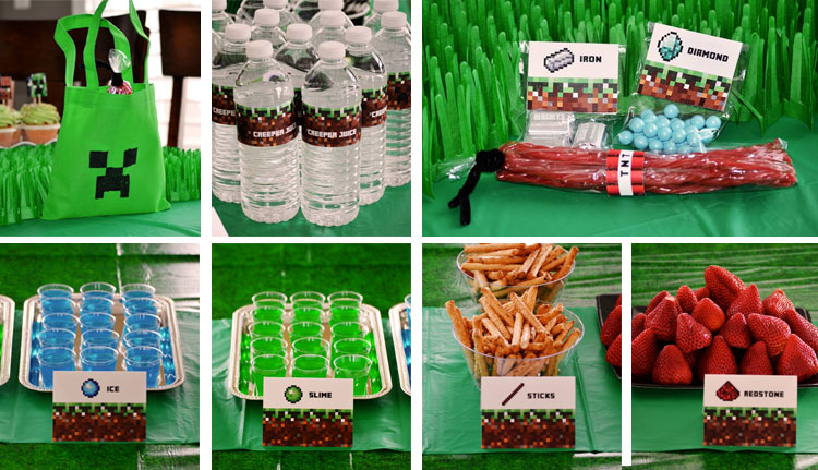 k12_minecraft_party_food