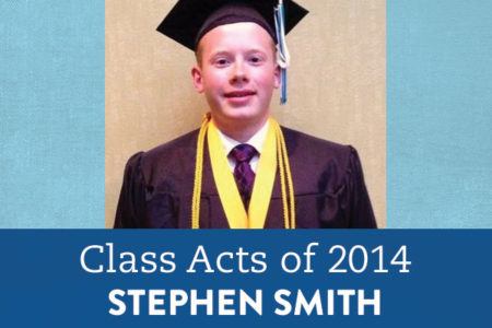 Stephen is a musician, athlete, published writer, and Valedictorian. Online education gave him the flexibility to do it all.