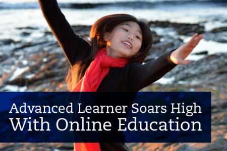 Joelene's sheer drive combined with the flexibility of online education have proven to be a successful recipe for this advanced learner to soar high.