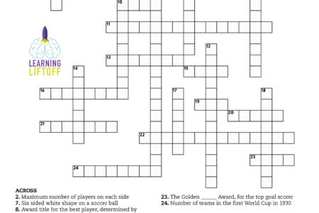 World Cup Crossword