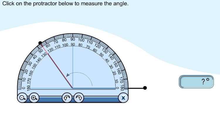 6th 8th Grade Math Activity Interactive Protractor on Math Games For Seventh Grade