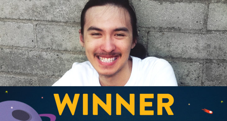 Christian shared his education goals in the Mission: Possible contest, and won a Microsoft Surface Pro™ with accessories.