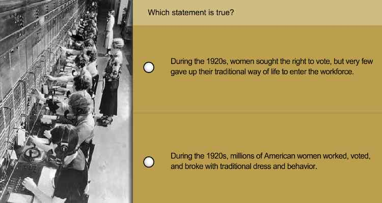 the different improvements in america during the roaring twenties
