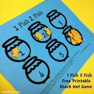 Inexpensive home decor ideas to help kids learn learning for One fish two fish printable