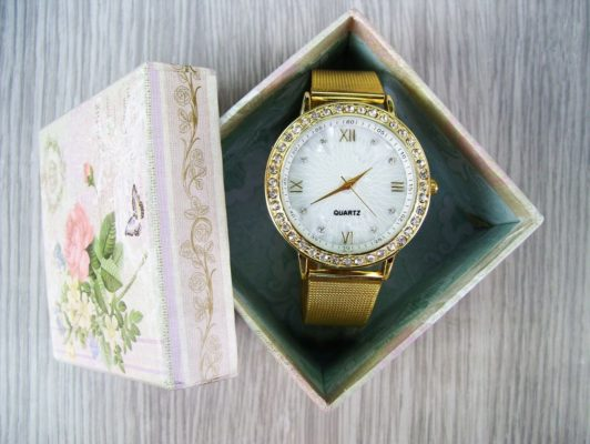 Watch in gift box
