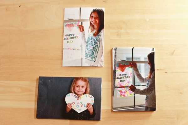photos of kids holding valentines