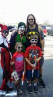 free comic book day family