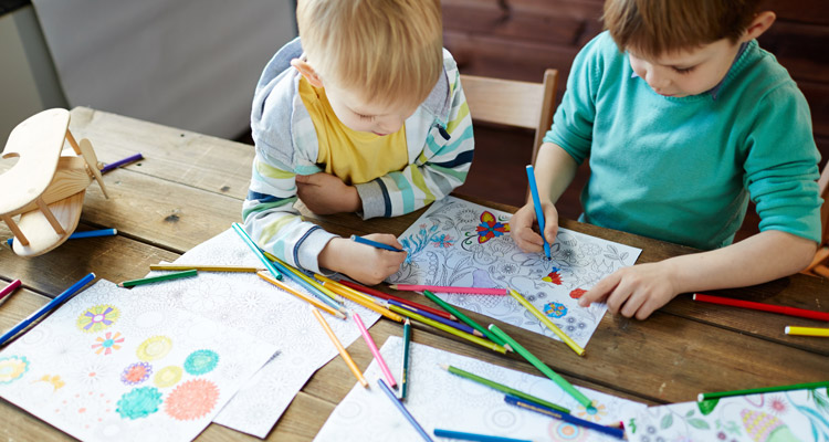 The Benefits of Coloring Books for a Healthy Mind - Learning Liftoff