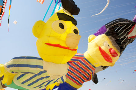 Bert and Ernie kites