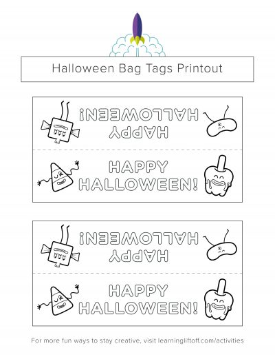 halloween_bagtags_candy_bw