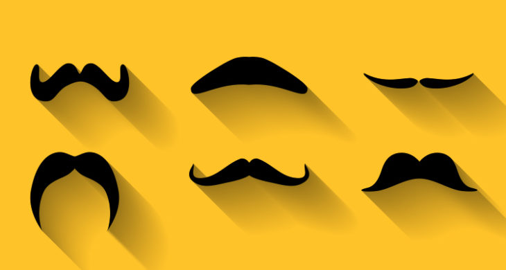picture about Printable Mustaches identify Mustache Printables for Movember - Mastering Liftoff