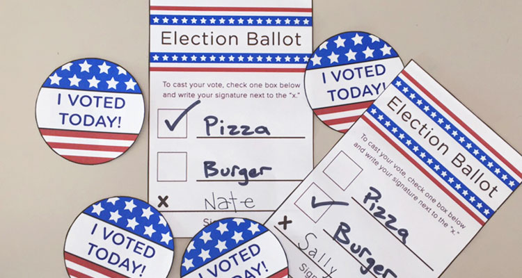 Voting Printables for Kids - Learning Liftoff