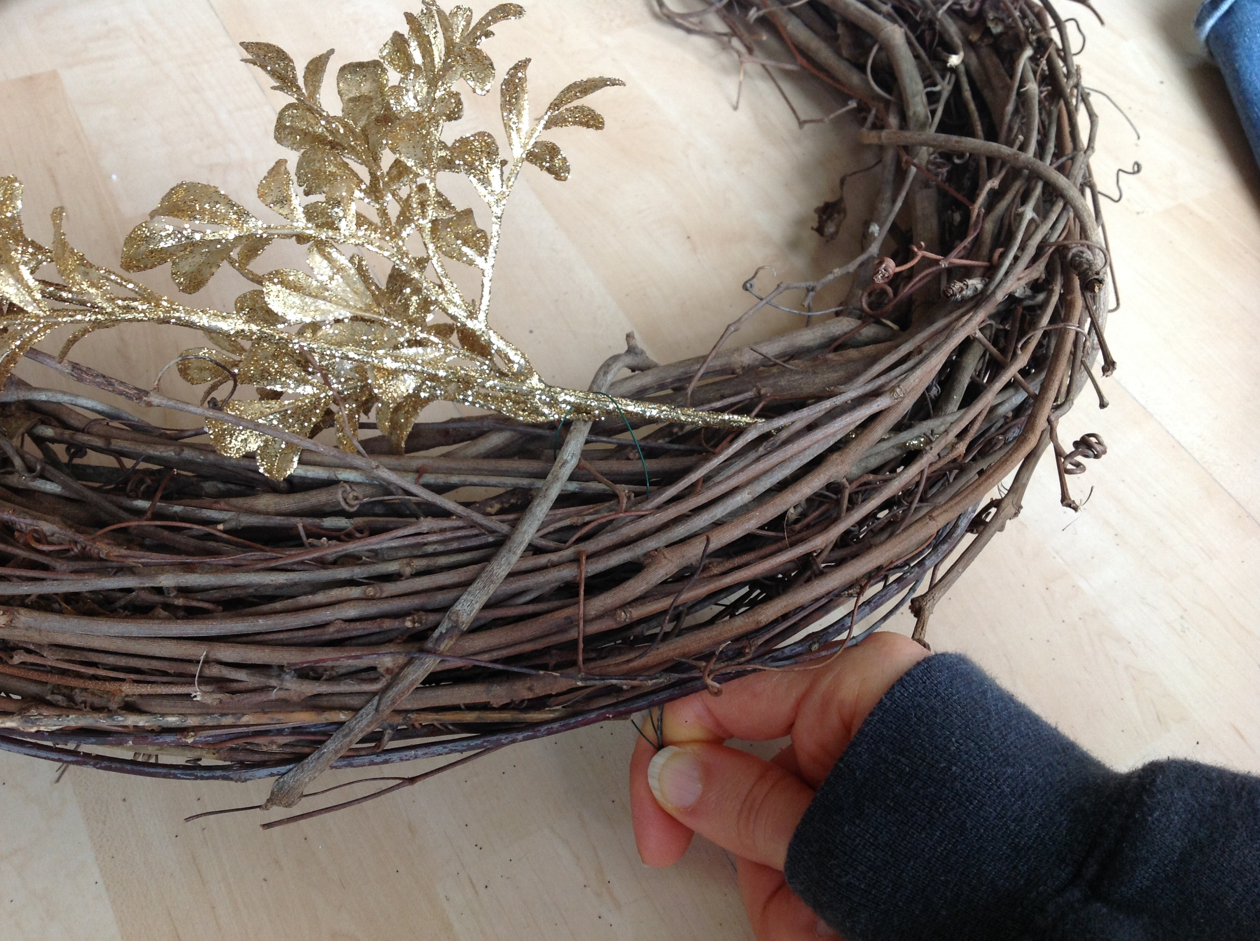 Christmas Wreath Floral Wire