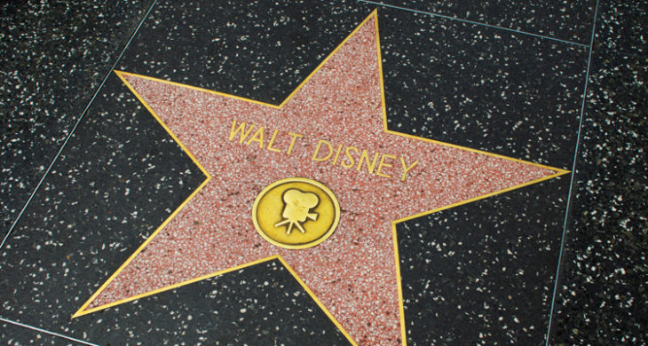 walt disney star of fame
