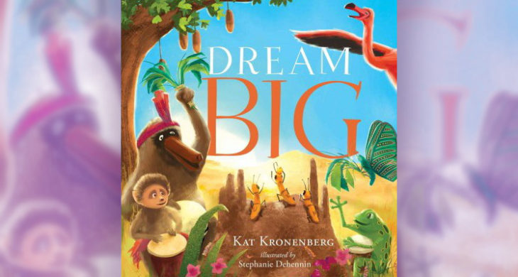 Dream Big book cover