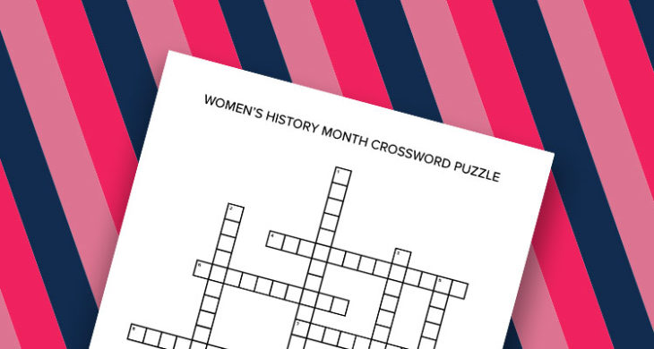 Inspiring Women Throughout History Crossword Puzzle