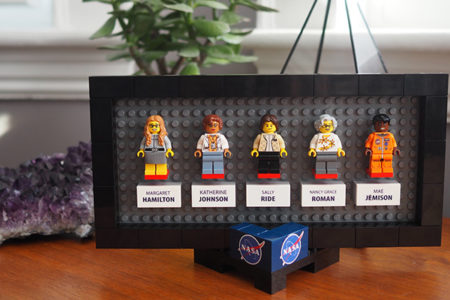 Women of NASA on LEGO Ideas - Desktop Frame