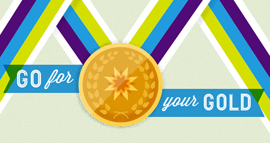 graphic about Printable Medals identified as Printable Gold Medals - Finding out Liftoff
