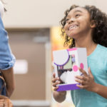Little girl pleads for mom to buy her a toy
