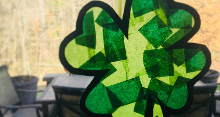 St. Patrick's Day is March 17th, and we want to help you get ready for the holiday with these ten easy crafts.