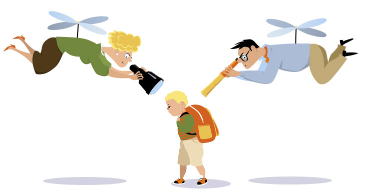 image of helicopter parent