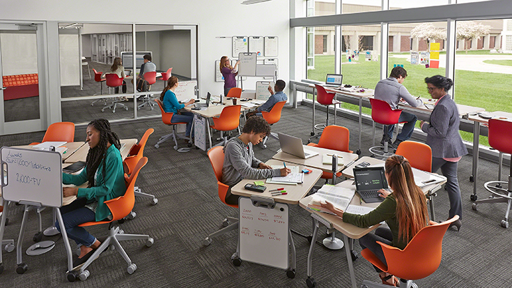 Classroom Design Research ~ How a creative classroom design benefits students