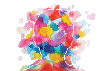 creative mind watercolor illustration
