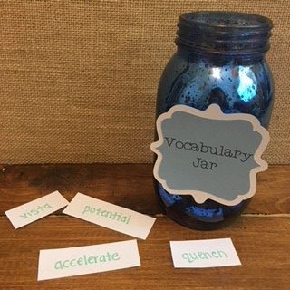 Vocabulary Jar