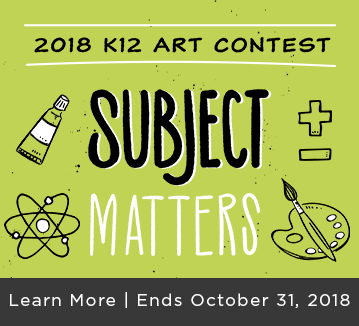 2018 K12 Art Contest Subject Matters