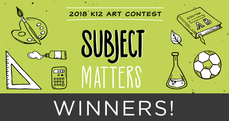 The 13th Annual Art Contest was a success! Help us in congratulating all of our winners!