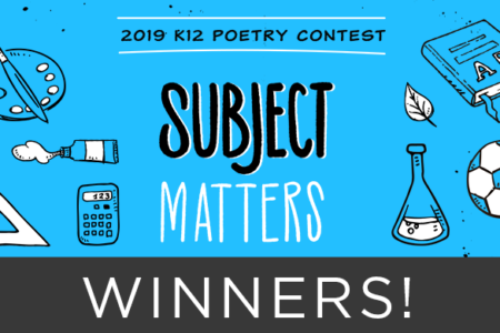 2019 poetry contest winners