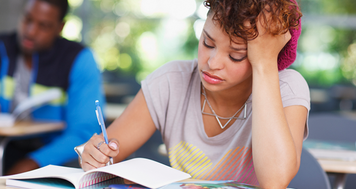 How the 'Stress Bias' Affects Students' Test Scores