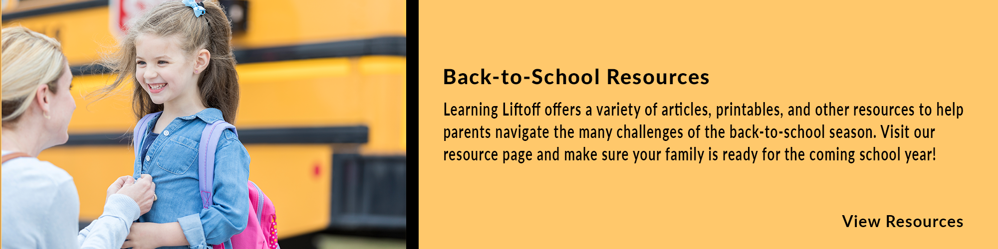 child by bus back-to-school promo