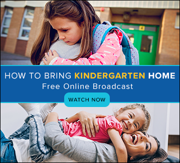 How to Bring Kindergarten Home