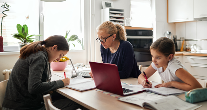 6 Ways to Successfully Work from Home While Helping Kids Learn at Home