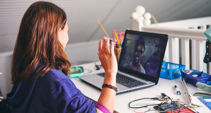 Online Learning New Normal